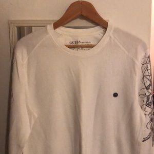 Men's Guess cotton long sleeve shirt